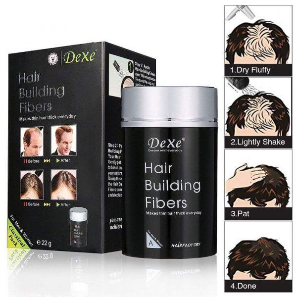 Dexe Hair Building Fiber