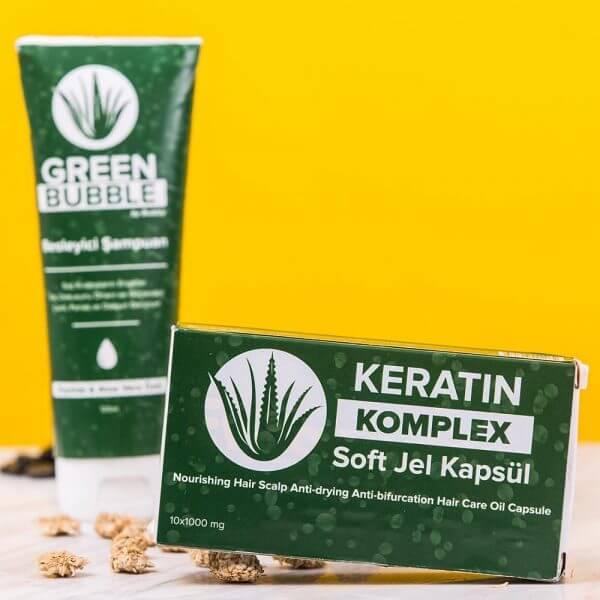 green-bubble-keratin